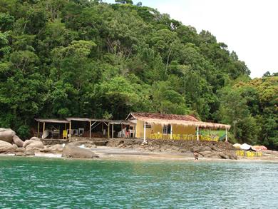 Restaurante Ilha da Cocanha - Praias de Caraguatatuba - Foto: Google Images